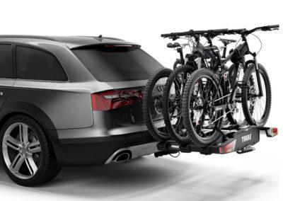 Portabicicletas Bola Remolque Thule EasyFold XT 3 Bicicletas