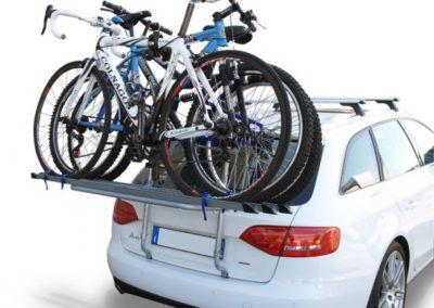 Portabicicletas parte trasera Logic 3 bicicletas