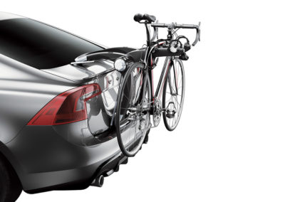 Portabicicletas parte trasera Thule RaceWay 2-3 Bicicletas